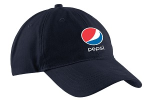 Brushed Twill Low Profile Cap - Pepsi