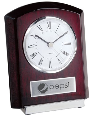 Plaque Style Clock with Base - Pepsi