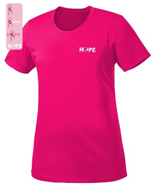 Ladies  Pro Team NEON Tee - Awareness