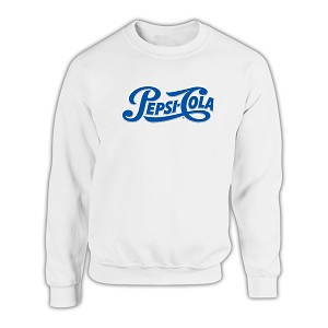 DISC Pepsi Cola Comfort Zone Sweater - White