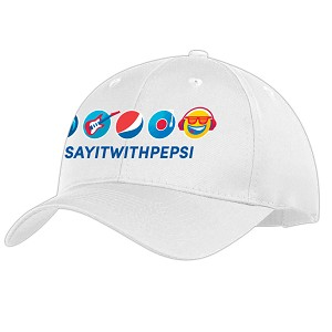 Music Version Cap - White