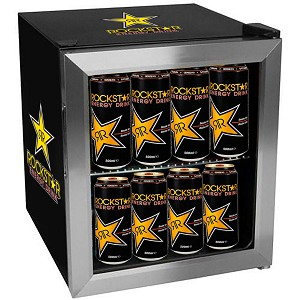 60 Can/ 30 Bottle Extreme Cool Beverage Cooler - Rockstar