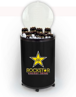 Ice Cooler Barrel - Rockstar