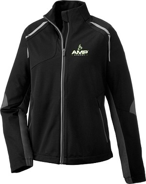 Dynamo Ladies' Hybrid Performance Soft Shell Jacket - Amp Energy