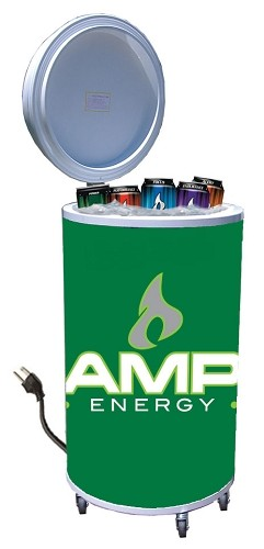 Cooler Fridge on Wheels - Amp Energy