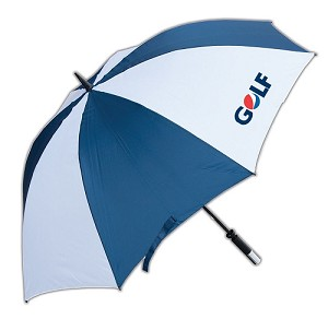 Golf Umbrella (Navy/ White) - Golf