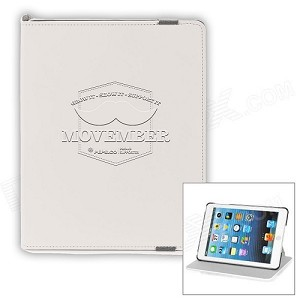 Movember iPad Cover