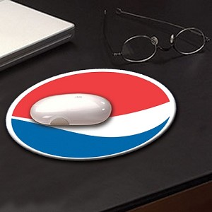 Full Color Hard Surface Mouse Pad - Pepsi - FROM $2.35
