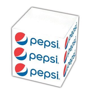 """Sticky"" Note Cube Minis - Pepsi"