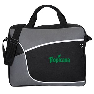 Business Brief/ Messenger Bag - Tropicana